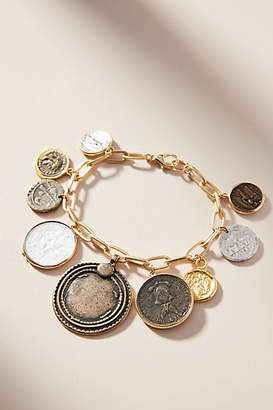 Anthropologie Around the World Charm Bracelet
