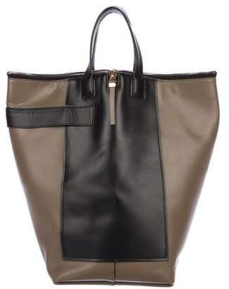 Balenciaga Leather Kendall Bucket Bag