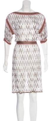 Missoni Patterned Knee-Length Dress