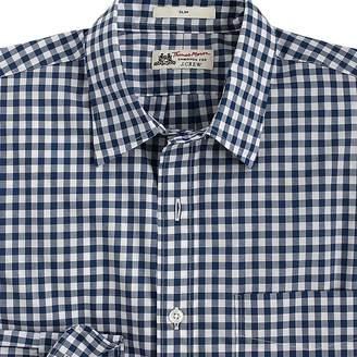 Thomas Mason for J.Crew Ludlow Slim-fit shirt in blue gingham