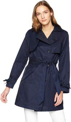 Jones New York Women's Belted Trench Coat