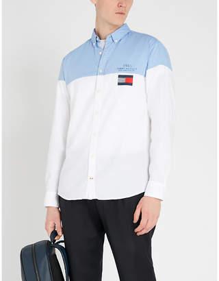 Tommy Hilfiger Colour-block cotton shirt