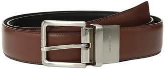 Calvin Klein 35mm Reversible Panel w/ Stitched Feather Edge Men's Belts