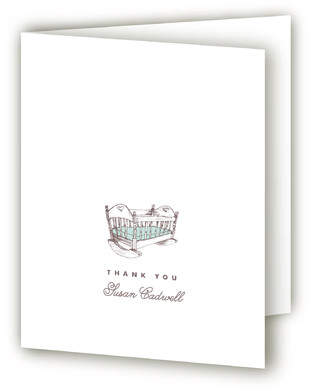Hush Little Baby Baby Shower Thank You Cards