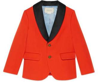 Gucci Children's wool twill jacket