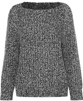 Vince Marled Wool And Cashmere-blend Sweater
