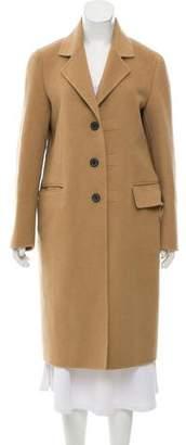 Prada Wool & Angora-Blend Coat