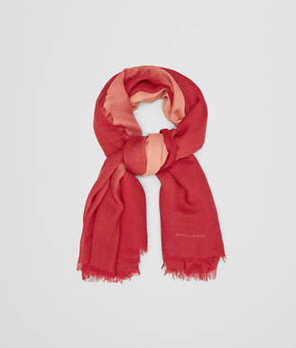 Bottega Veneta RED WOOL SCARF
