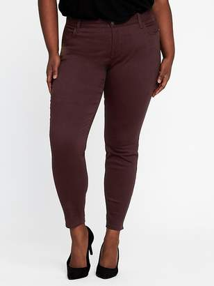 Old Navy High-Rise Secret-Slim Pockets Plus-Size Sateen Rockstar Jeans