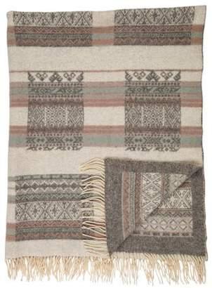 Throw Cecchi e Cecchi Wool Throw Blanket