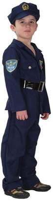 Simplicity Spooktacular Kids' Officer Costume Set with Uniform & Hat, L