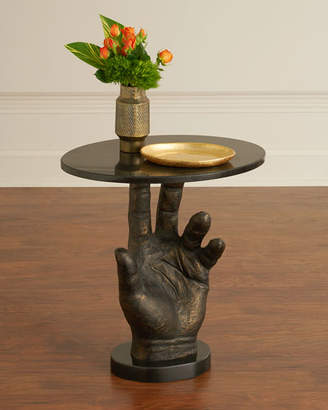 Global Views Poe Hand Styled Side Table