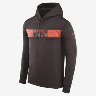 Nike Dri-FIT Therma (NFL Browns) Men's Pullover Hoodie