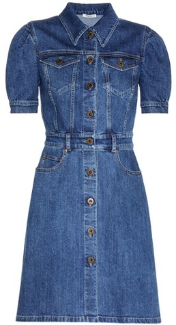 Miu Miu Miu Miu Denim dress