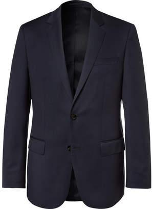 HUGO BOSS Blue Hayes Slim-Fit Super 120s Virgin Wool Suit Jacket