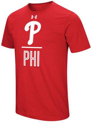 Under Armour Men's Philadelphia Phillies Performance Slash T-Shirt