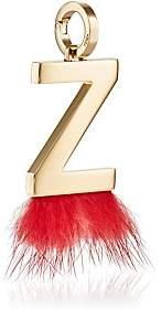 Fendi Women's ABClick Z Bag Charm - Gold
