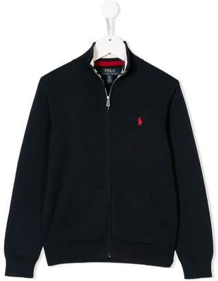 Ralph Lauren Kids zipped pullover jacket