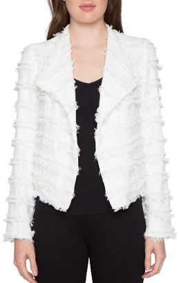 Women's Willow & Clay Textured Jacket $119 thestylecure.com