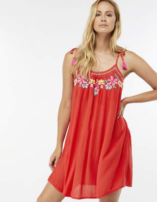 Accessorize Chevron Embroidered Swing Dress