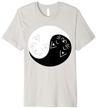 Yin and Yang Cats Shirt   Funny Cat Animal T-Shirts