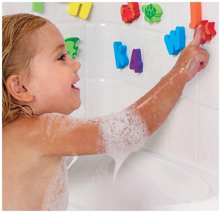 Munchkin Sea & Learn Bath Shapes