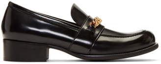 Stella McCartney Black Chain Loafers