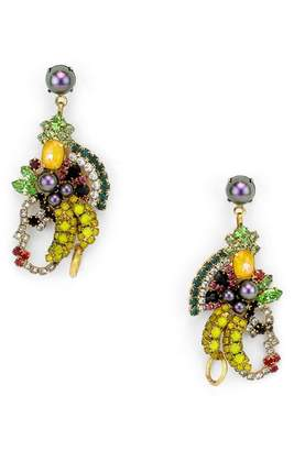 Elizabeth Cole Marisal Crystal Earrings