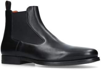 Santoni Simon Chelsea Boots
