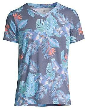 Sol Angeles Men's Night Blooms V-Neck T-Shirt
