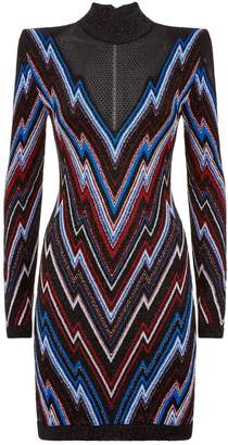 Balmain Bolt Bodycon Dress