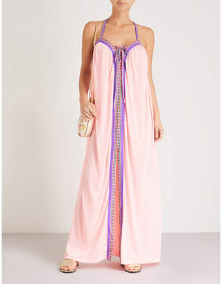 Pitusa Goddess cotton-blend maxi dress