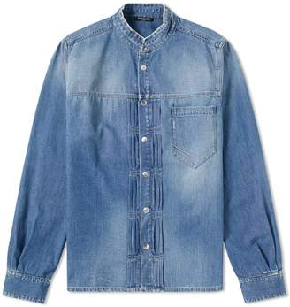 Balmain Military Denim Shirt