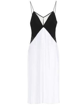 Victoria Victoria Beckham Pleated crepe midi dress