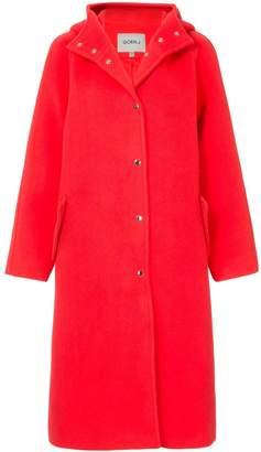 GOEN.J hooded coat