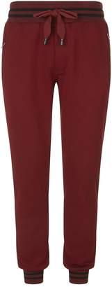 Dolce & Gabbana Stripe Trim Sweatpants