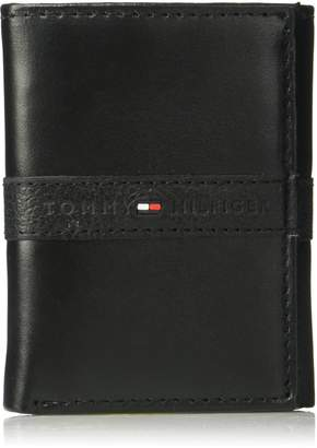 53cdb1ee48 Tommy Hilfiger Men's Rfid Blocking Leather Ranger Extra Capacity Trifold  Wallet