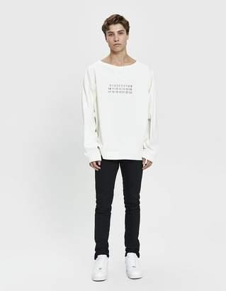 Maison Margiela Lines Crewneck Sweatshirt