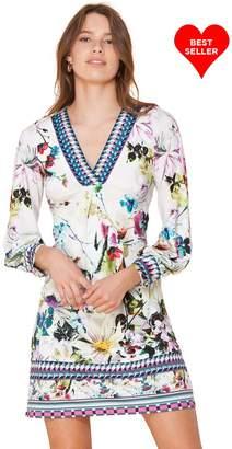 Hale Bob Ruth Beaded Jersey Dress