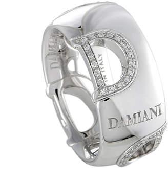 Damiani 18K 0.20 Ct. Tw. Size 7.25 Diamond Ring