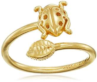 Alex and Ani Women's Ring Wrap Ladybug