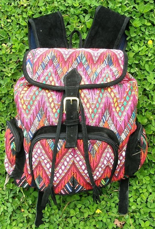 Precious Hands Huipil Backpack