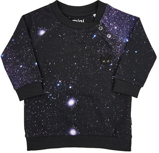Munster Kids Galaxy French Terry Sweatshirt-NAVY $48 thestylecure.com