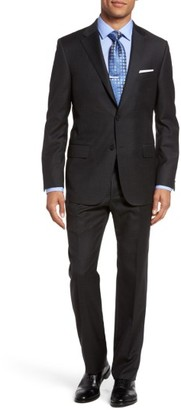 Men's Hickey Freeman B-Series Classic Fit Check Wool Suit $1,595 thestylecure.com