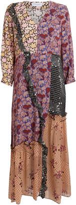 Hofmann Copenhagen Arlie Patchwork Floral Dress