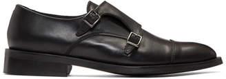 Tiger of Sweden Black Thoren Monkstrap Shoes