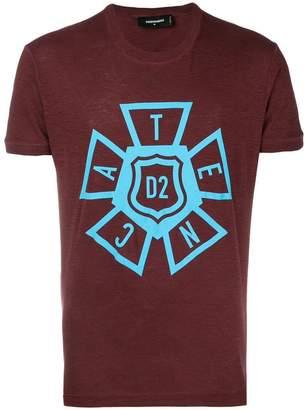 DSQUARED2 central motif T-shirt