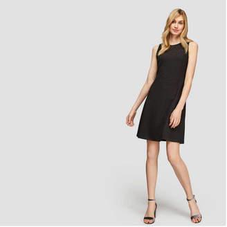Joe Fresh Women's Lace Yoke Sleeveless Dress