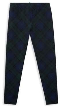 Ralph Lauren Childrenswear Girl's Cotton Tartan Leggings