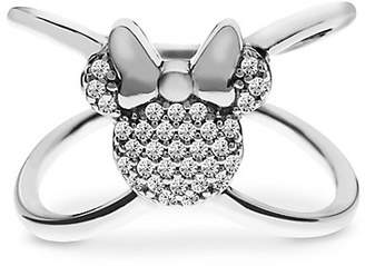 Minnie Mouse ''X'' Ring by Rebecca Hook $75 thestylecure.com